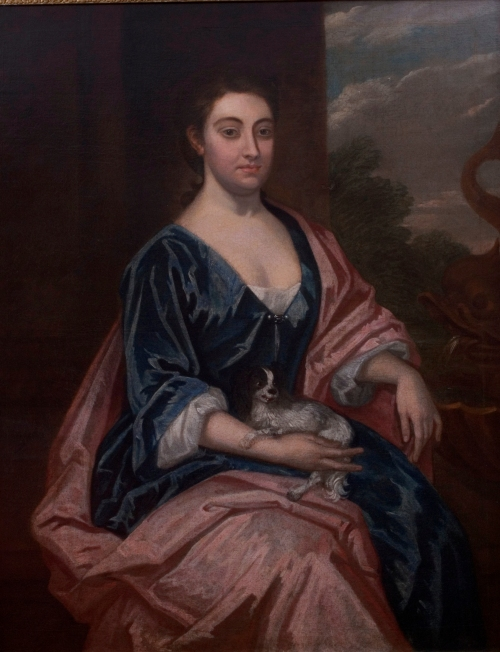 Margaret Frances Tonwley Chase daughter of Lord Townley by Sir Godfrey Knellor, 1725. Photo Hammond-Harwood House